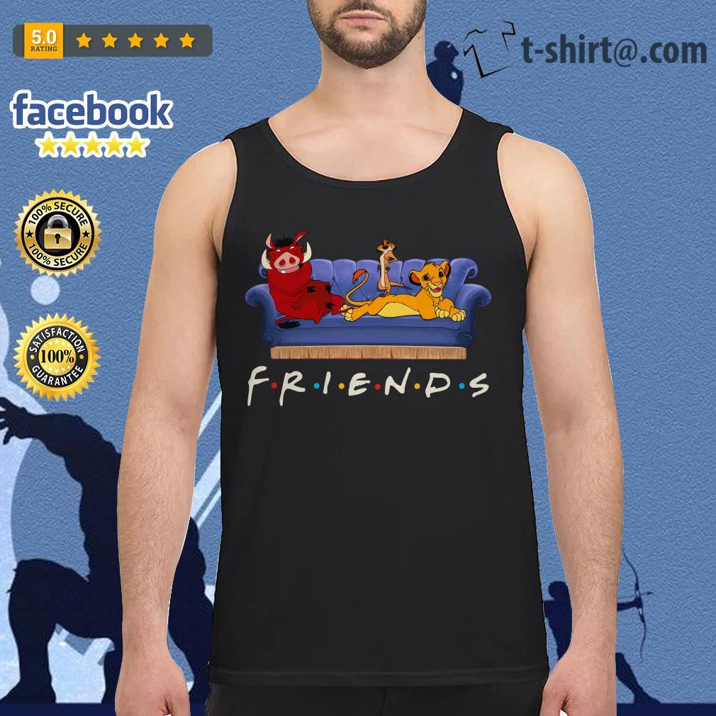 Simba Friends Timon Pumbaa The Lion King Tank top