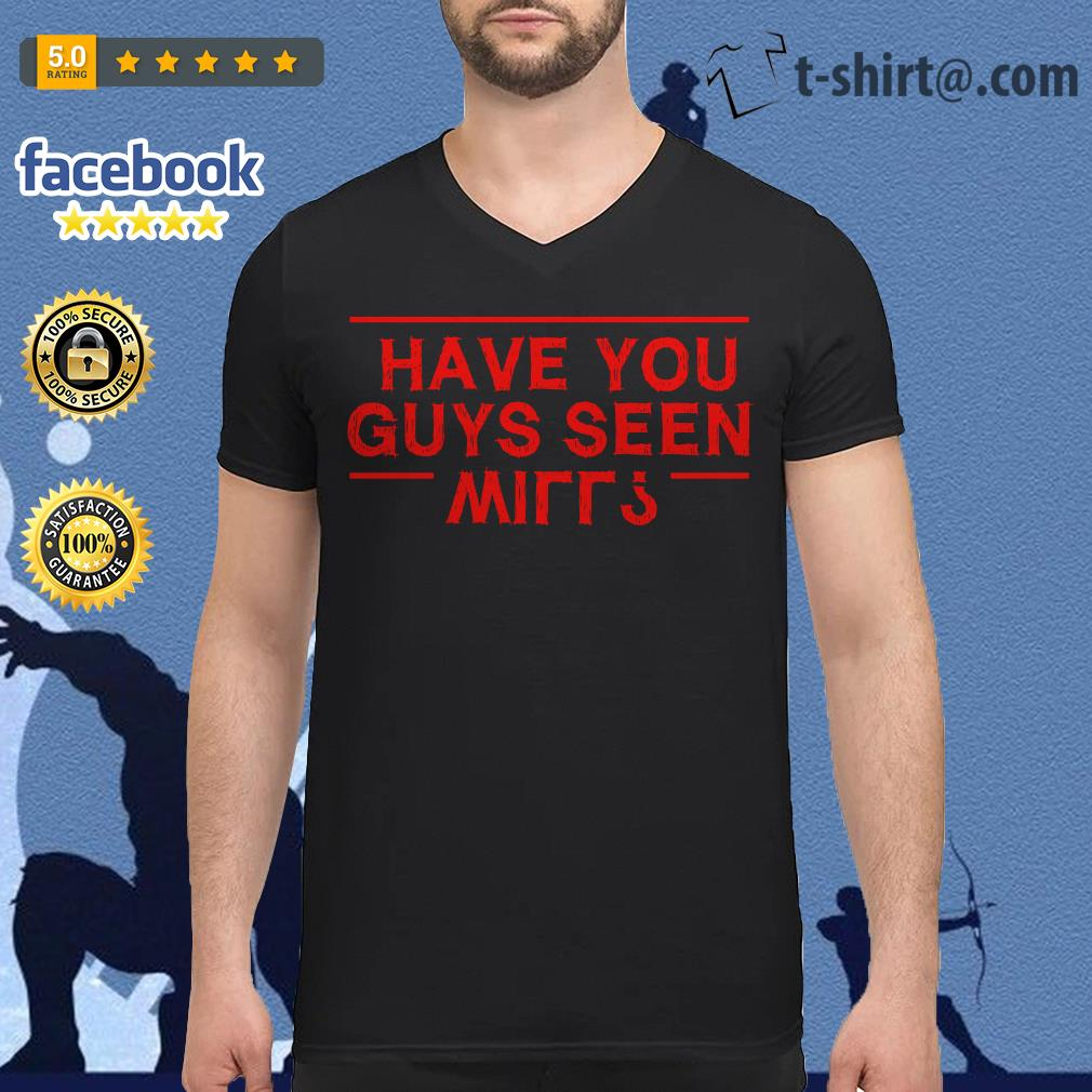 Stranger Things have you guys seen Will V-neck T-shirt