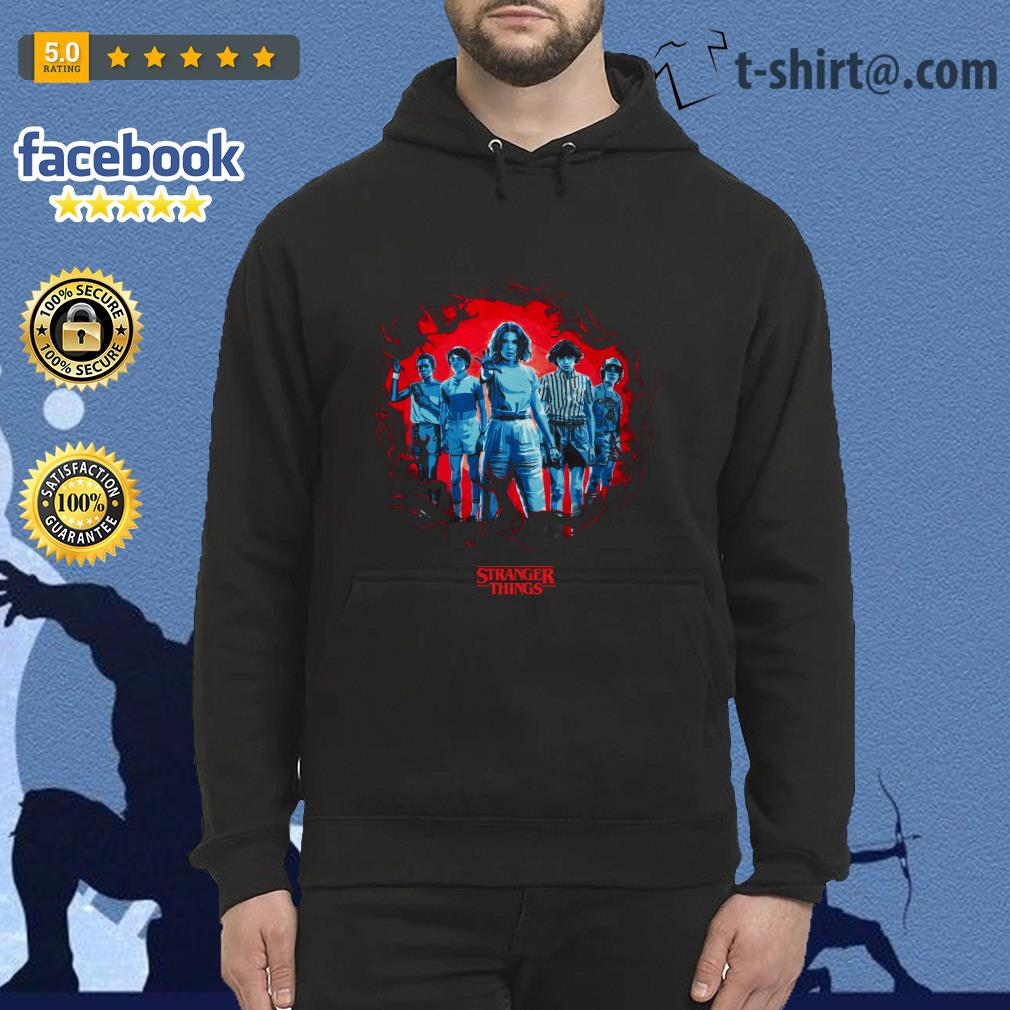 Stranger Things season 3 Eleven and friends killer Mindflayer Hoodie