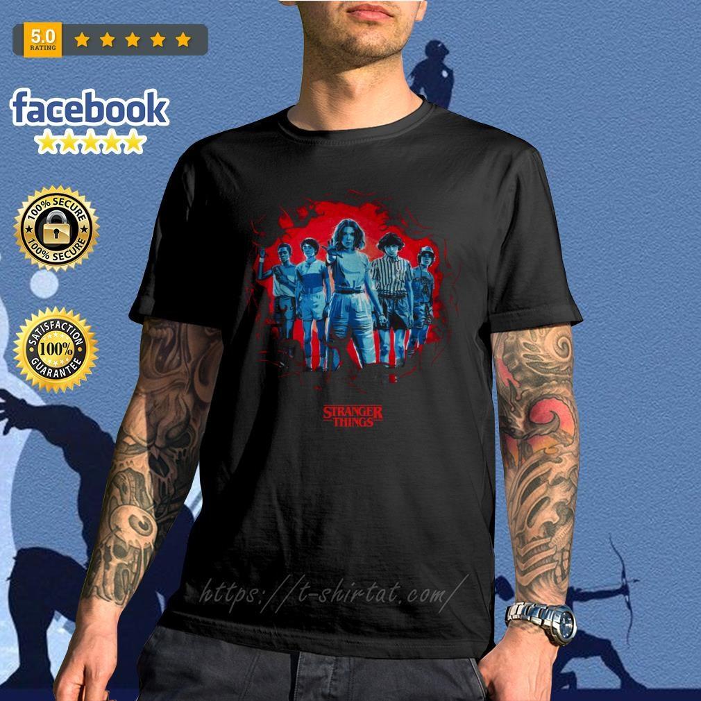 Stranger Things season 3 Eleven and friends killer Mindflayer shirt