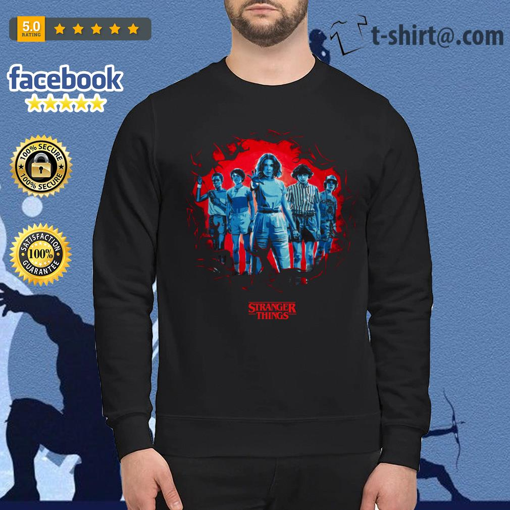 Stranger Things season 3 Eleven and friends killer Mindflayer Sweater