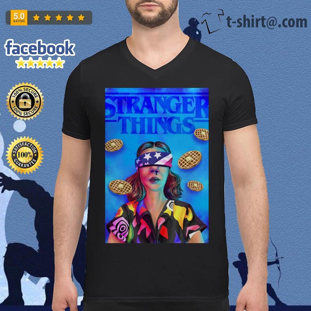Stranger Things season 3 Eleven Chapter 7 The Bite V-neck T-shirt