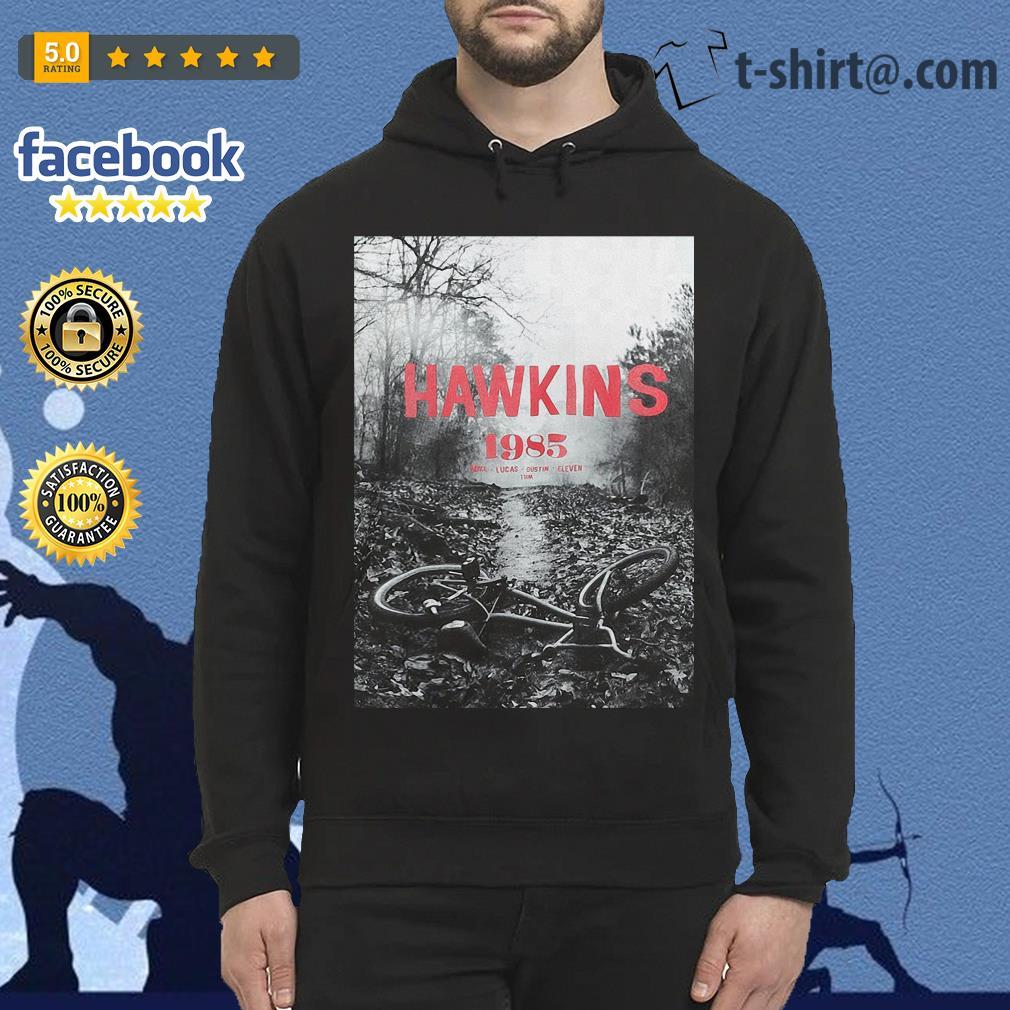 Stranger Things season 3 Hawkins 1985 Mike Lucas Dustin Eleven Will Hoodie