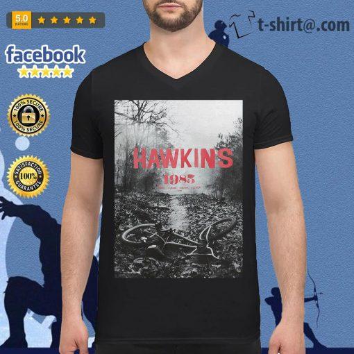 Stranger Things season 3 Hawkins 1985 Mike Lucas Dustin Eleven Will V-neck T-shirt