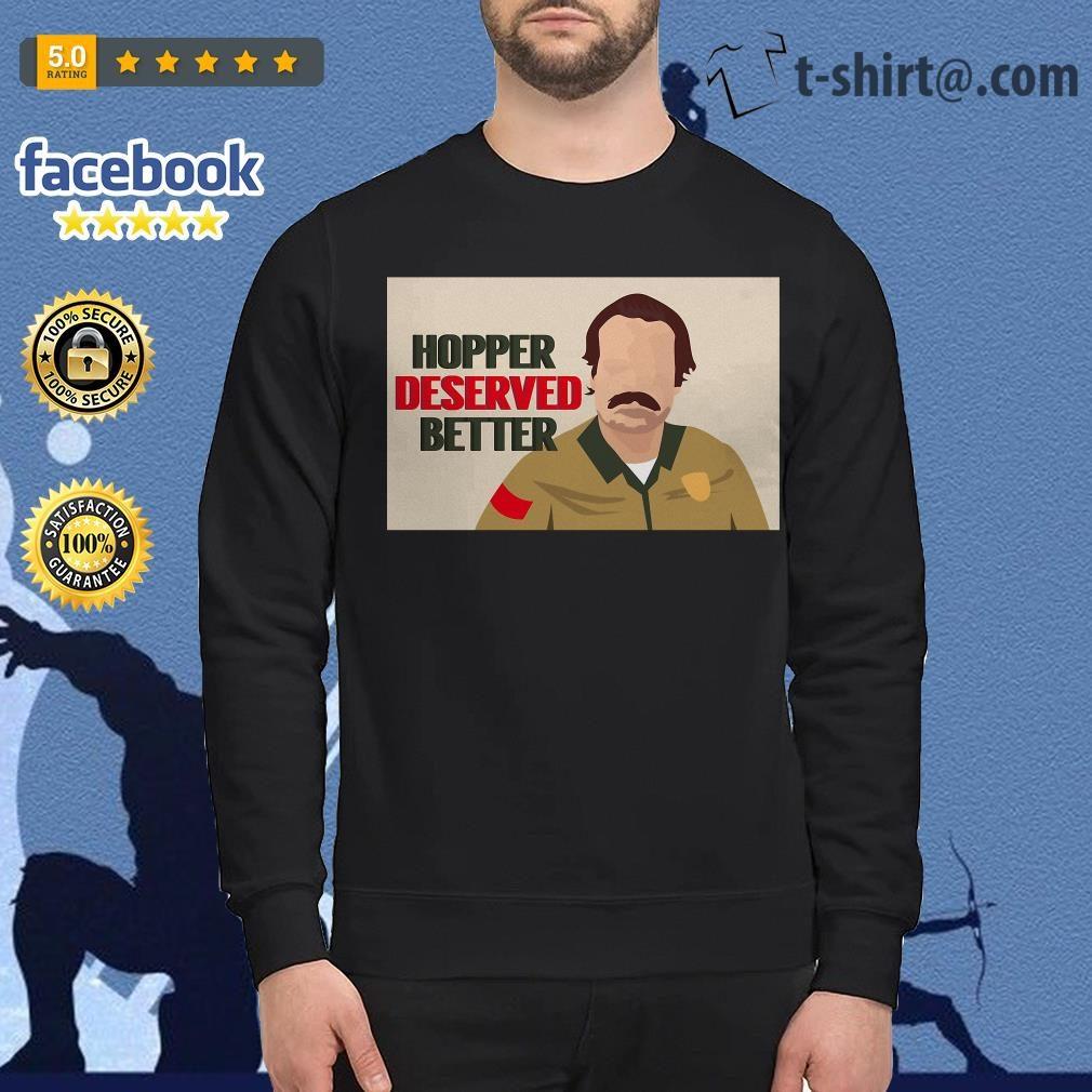 Stranger Things season 3 Hopper deserved better Sweater