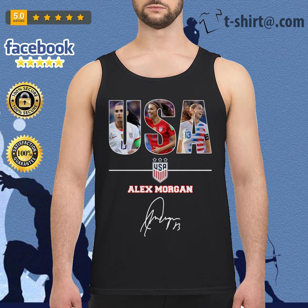 USA women's soccer team Alex Morgan signature Tank top