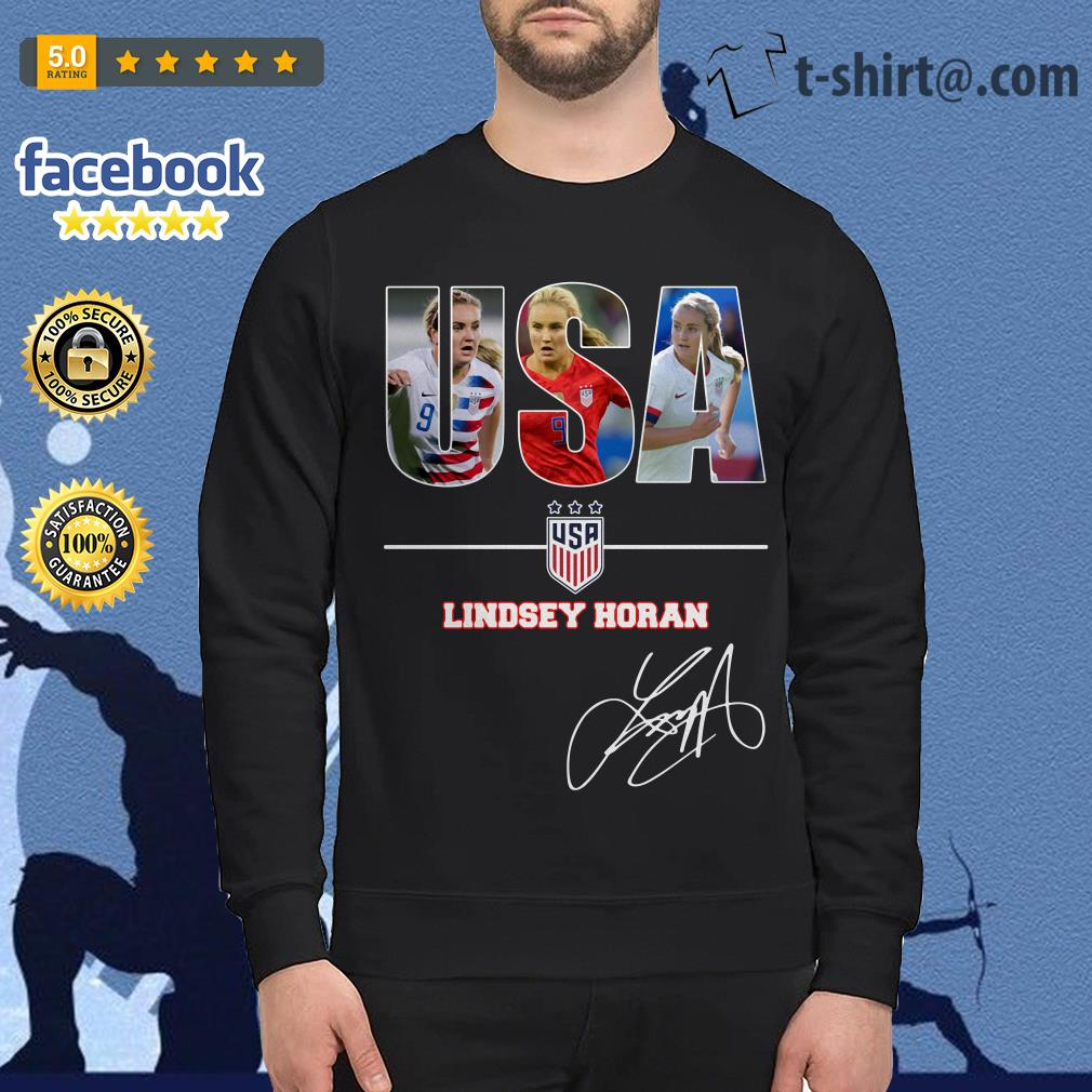 USA women's soccer team Lindsey Horan signature Sweater