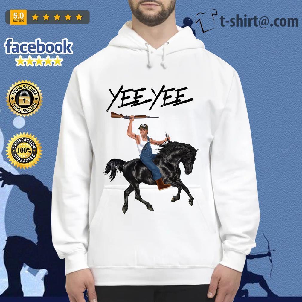 Yee Yee Granger Smith Riding horse with hold gun Hoodie