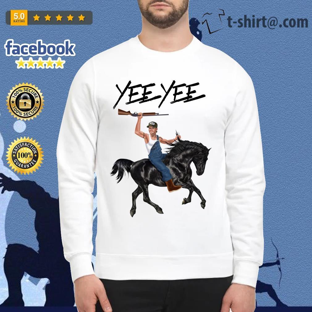 Yee Yee Granger Smith Riding horse with hold gun Sweater