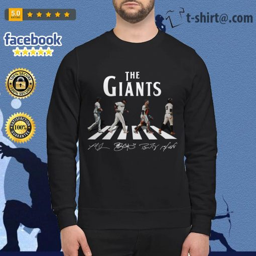 Abbey Road The Giants signature Sweater
