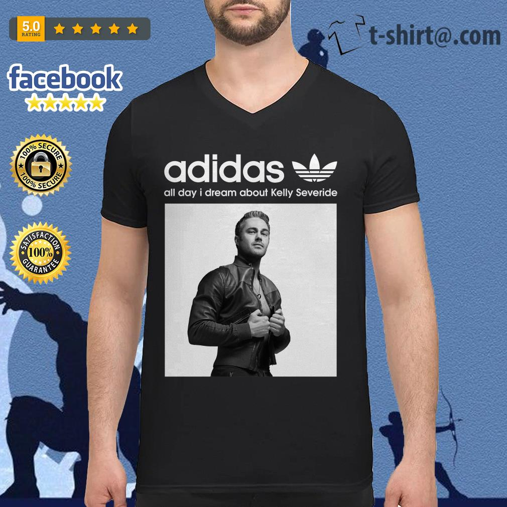 Adidas all day I dream about Kelly Severide V-neck T-shirt