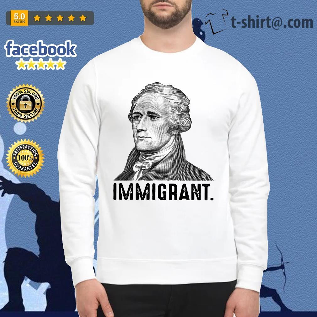 Alexander Hamilton immigrant Sweater