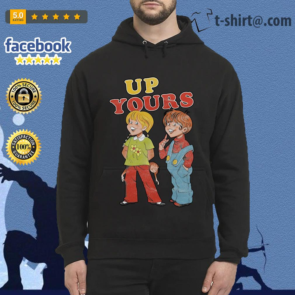 Ann and Barry up yours Hoodie