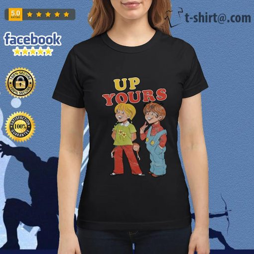 Ann and Barry up yours Ladies Tee