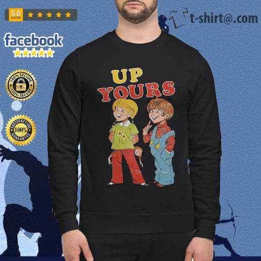 Ann and Barry up yours Sweater