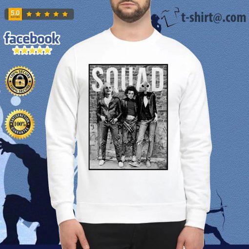 Beetlejuice Edward Scissorhands and Jack Skellington squad Sweater