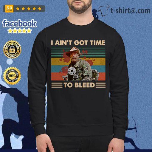 Blain Predator I ain't got time to bleed vintage Sweater
