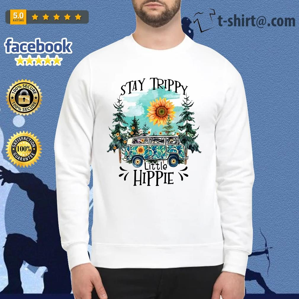 Camping Stay trippy sunflower little hippie Sweater