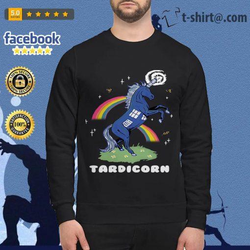 Doctor Who Tardis Cardboard tardicorn Sweater