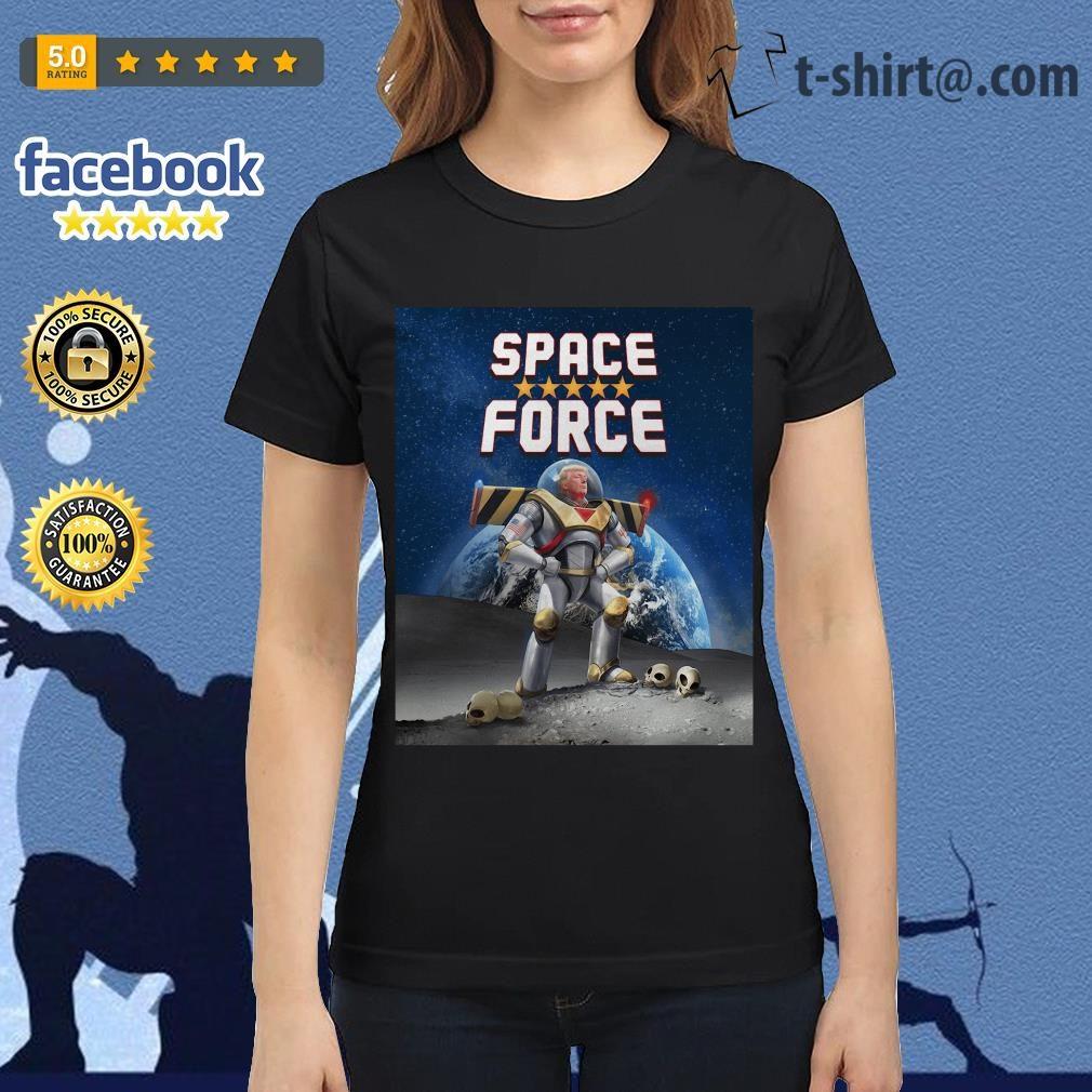 Donald Trump Buzz Lightyear space force Ladies Tee