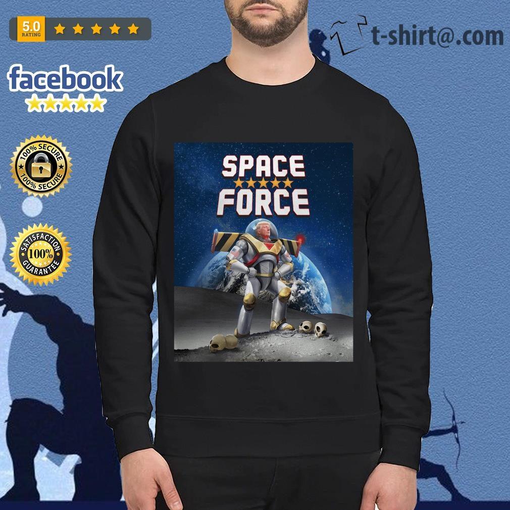 Donald Trump Buzz Lightyear space force Sweater