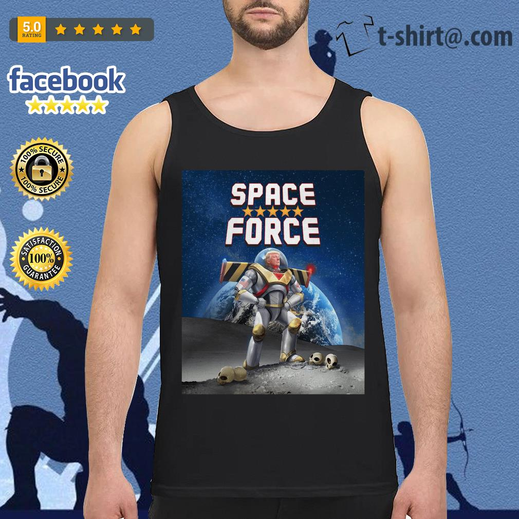 Donald Trump Buzz Lightyear space force Tank top