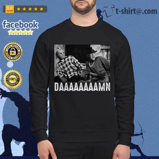 Friday Jason Voorhees Freddy Krueger daaaaamn Sweater