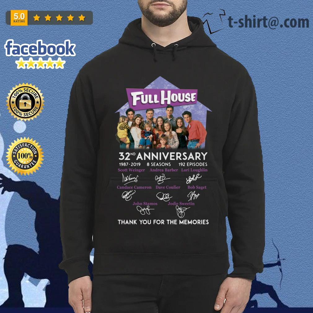 Full House 32th anniversary thank you for the memories Hoodie