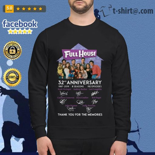 Full House 32th anniversary thank you for the memories Sweater