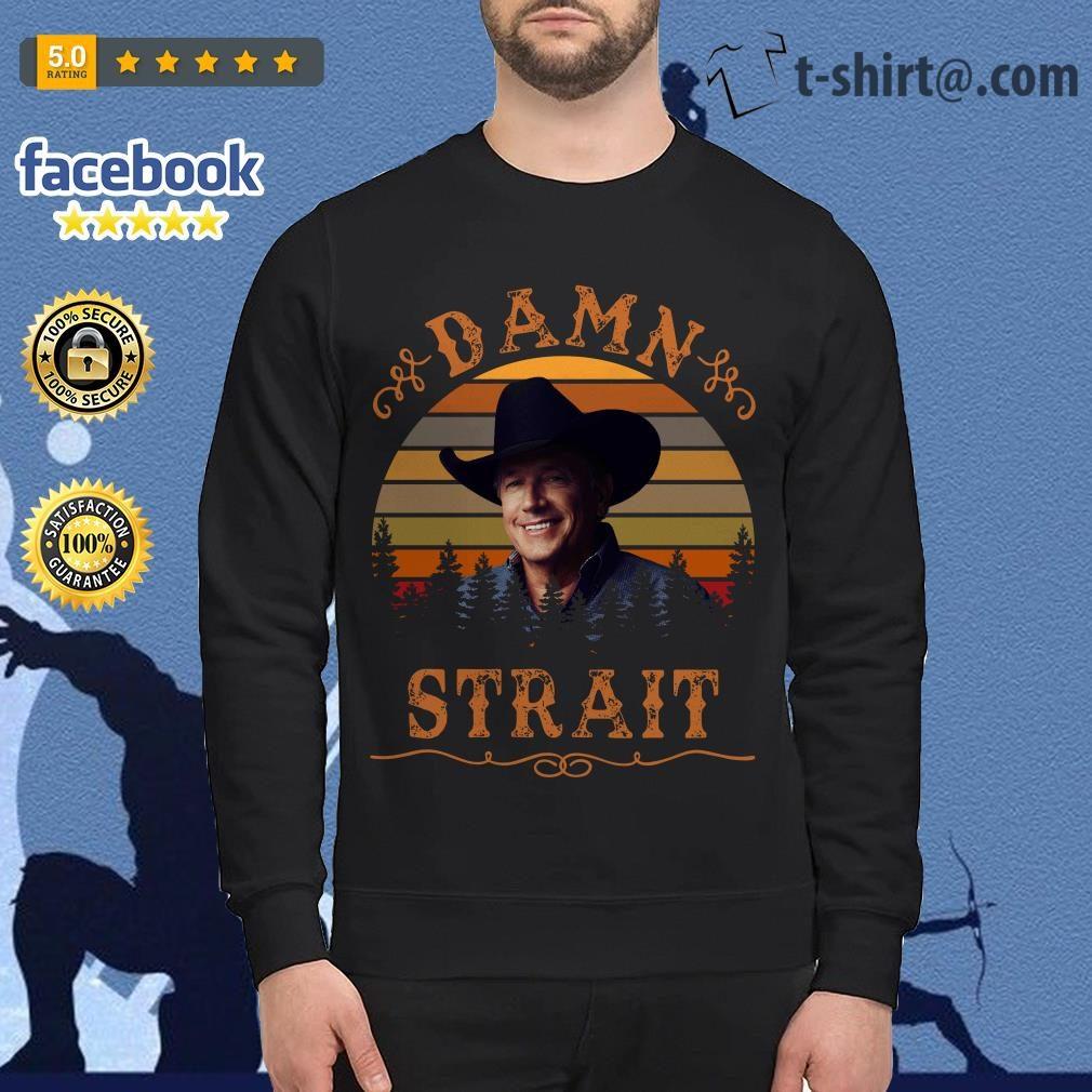 George Strait damn Strait vintage Sweater