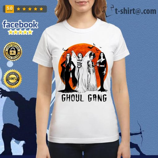 Halloween Ghoul Gang Ladies Tee