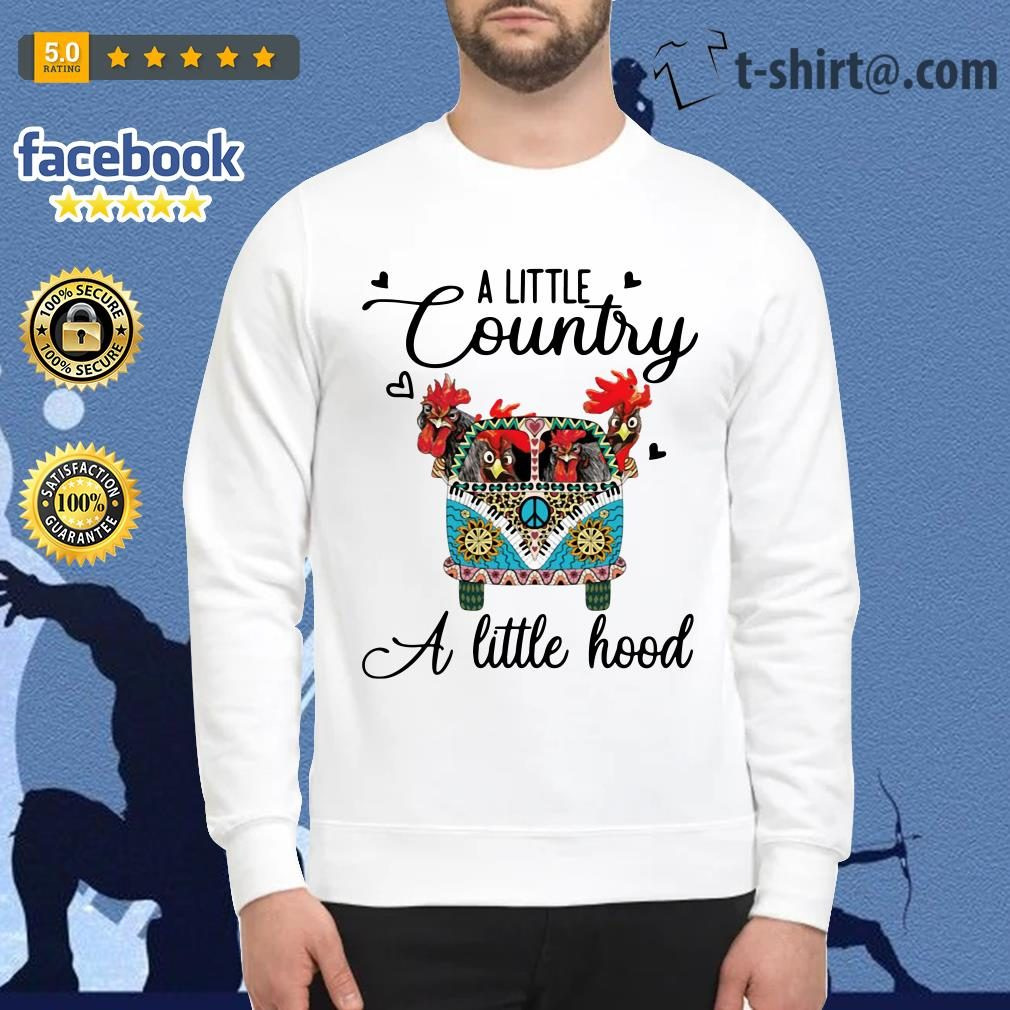 Hippie Car chickens a little country a little hood Sweater