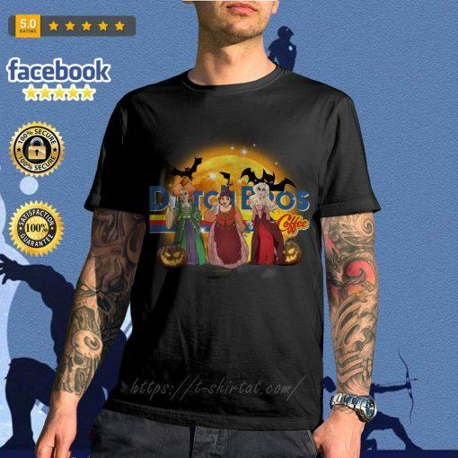 Hocus Pocus Sanderson sisters Dutch Bros coffee shirt