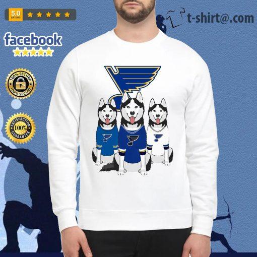 Husky dog St. Louis Blues Sweater