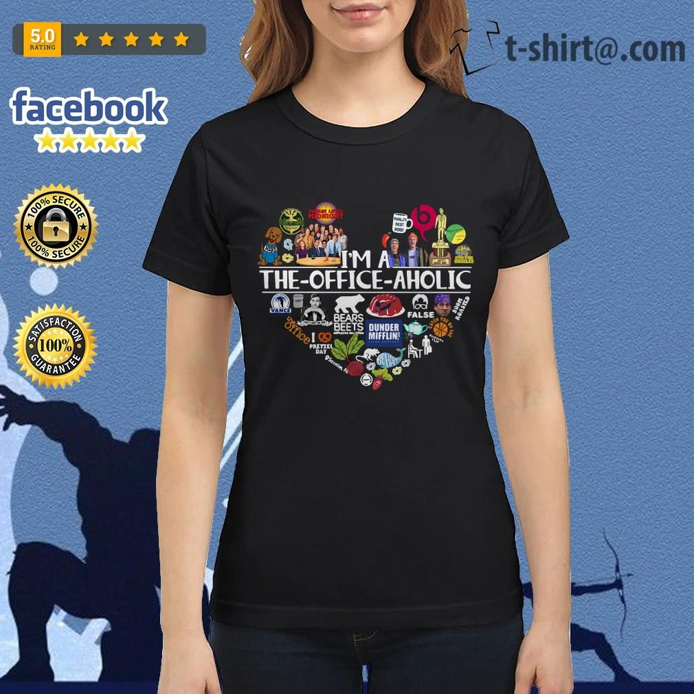 I'm a The Office aholic Ladies Tee