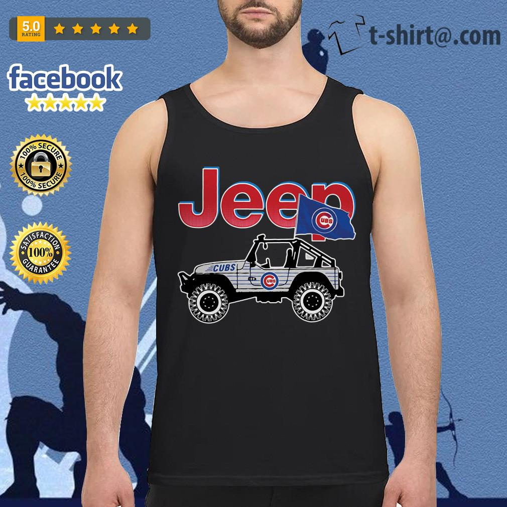 Jeep Chicago Cubs Tank top