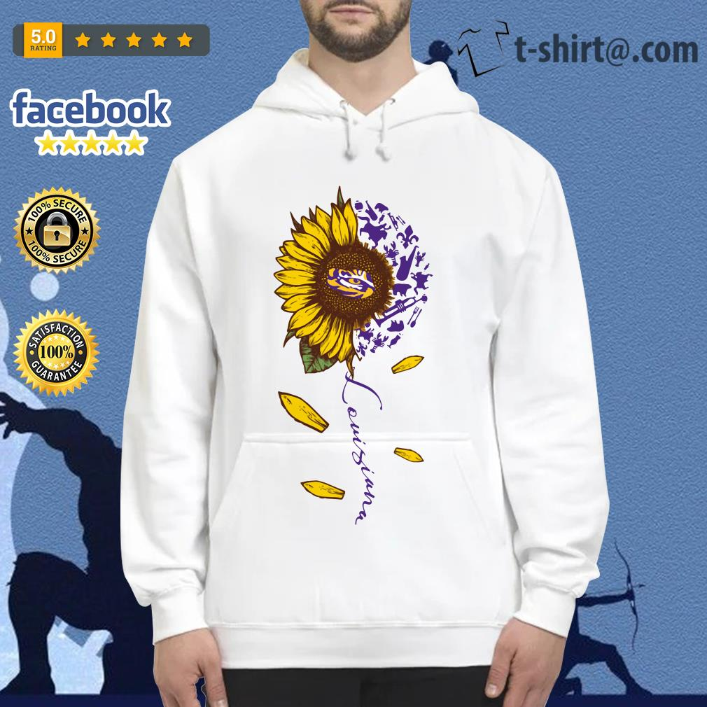 LSU Tiger sunflower Louisiana Hoodie