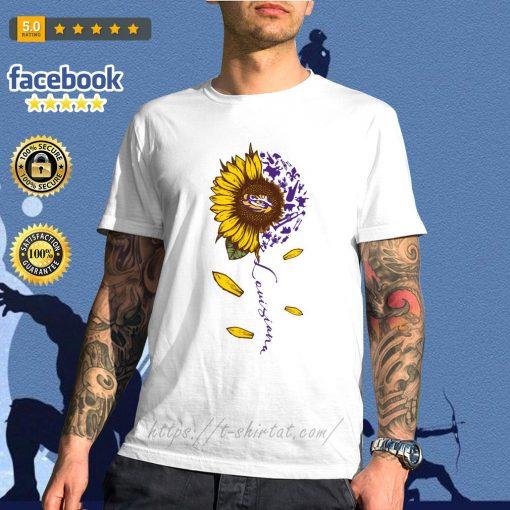 LSU Tiger sunflower Louisiana shirt