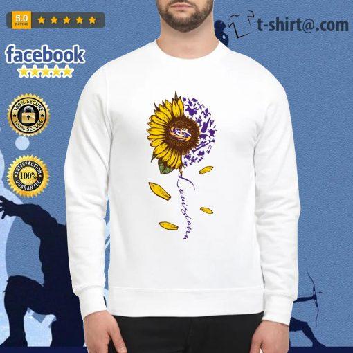 LSU Tiger sunflower Louisiana Sweater