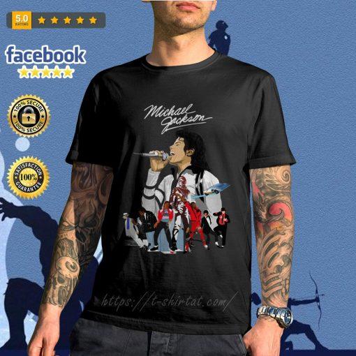 Michael Jackson signature wallpaper shirt