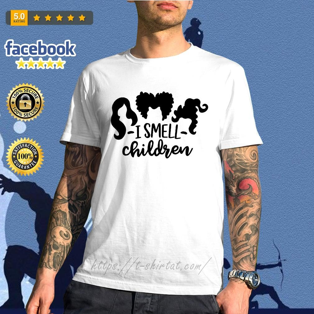Official Hocus Pocus I smell children shirt