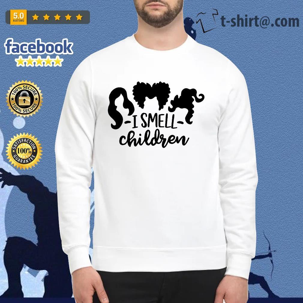 Official Hocus Pocus I smell children Ladies Tee