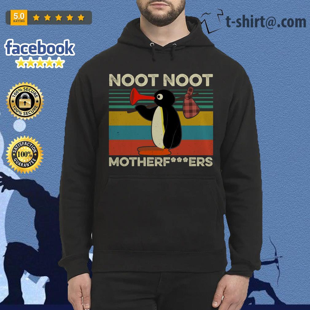Pingu noot noot motherfucker vintage Hoodie