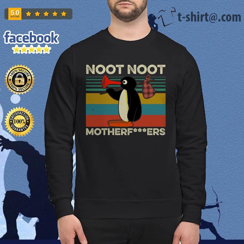 Pingu noot noot motherfucker vintage Sweater