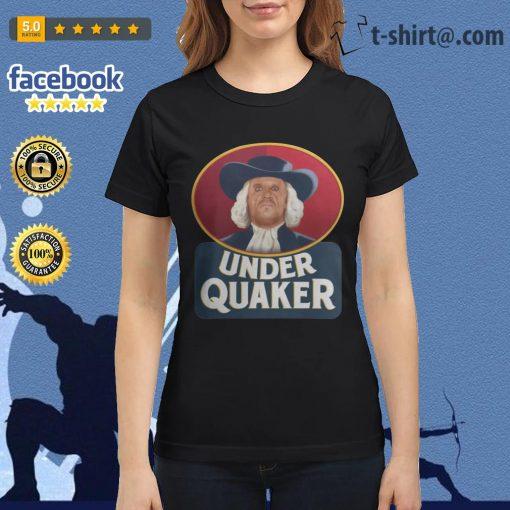 Quaker Oats Under Quaker Ladies Tee