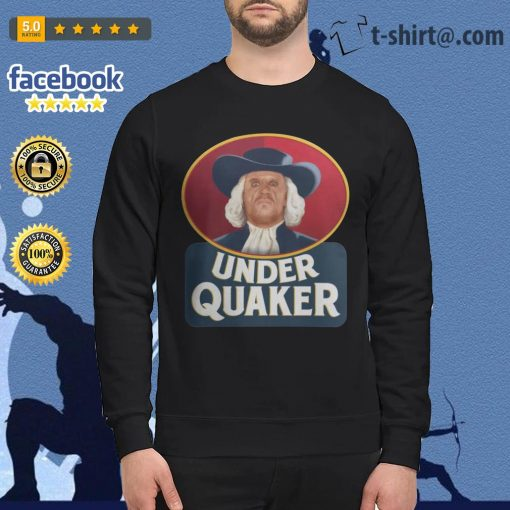 Quaker Oats Under Quaker Sweater