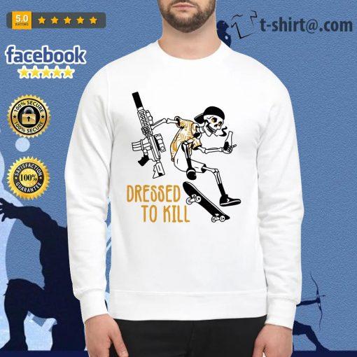 Skeleton dressed to kill Sweater