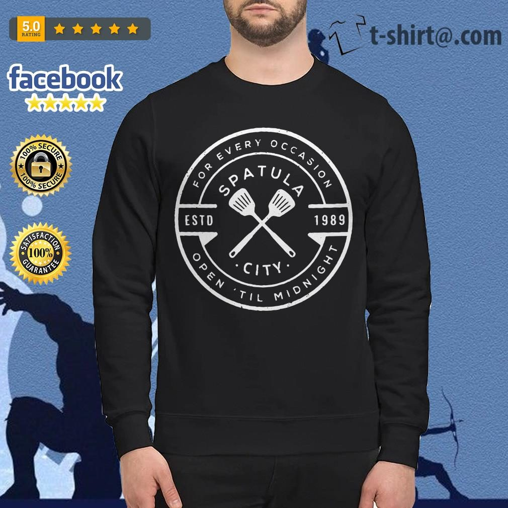 Spatula city 1989 for every occasion open 'til midnight Sweater