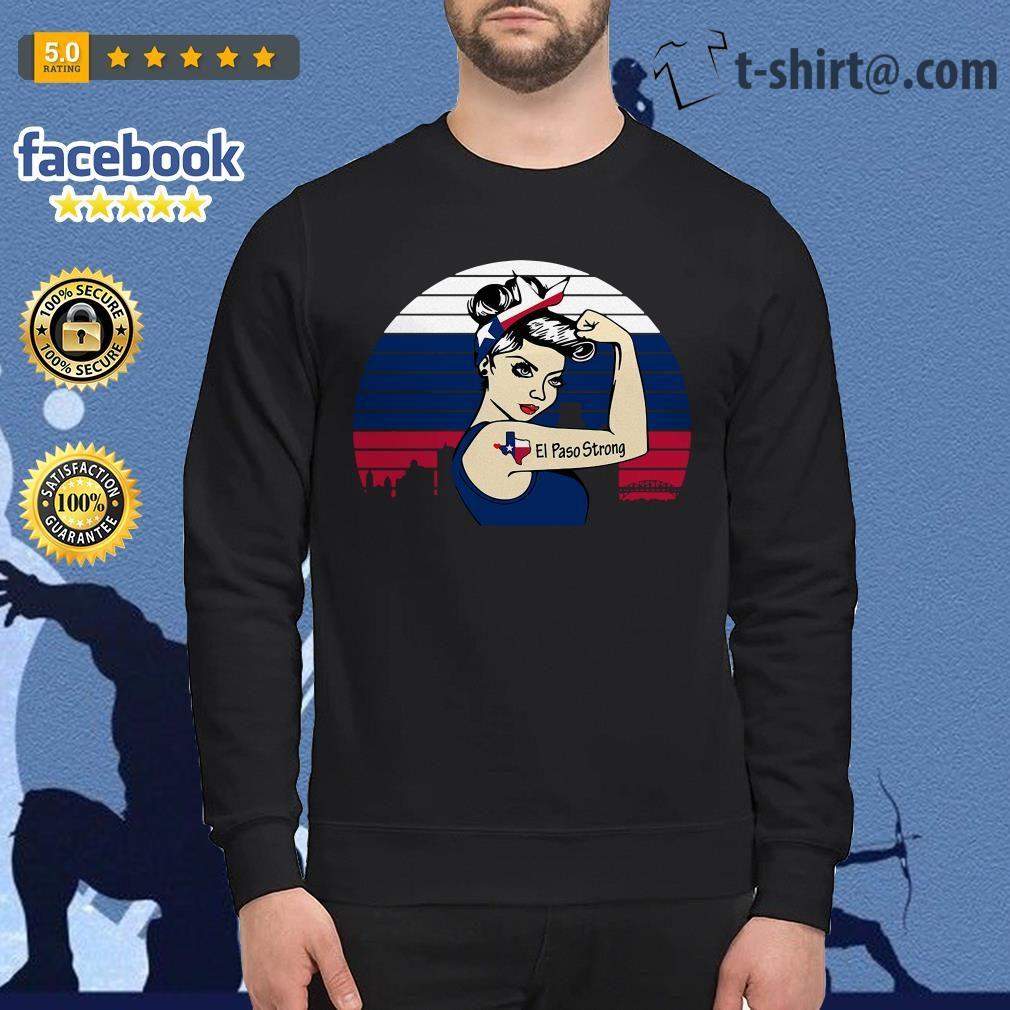 Texas el paso strong vintage Sweater