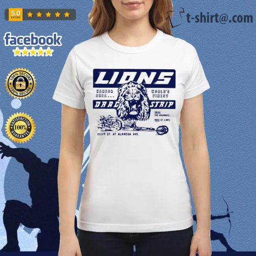 Once upon a time in Hollywood Lions drag strip Ladies Tee